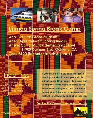 Ujimaa Spring Break Camp